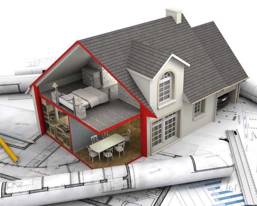 Перестройка дома и разрешение на строительство